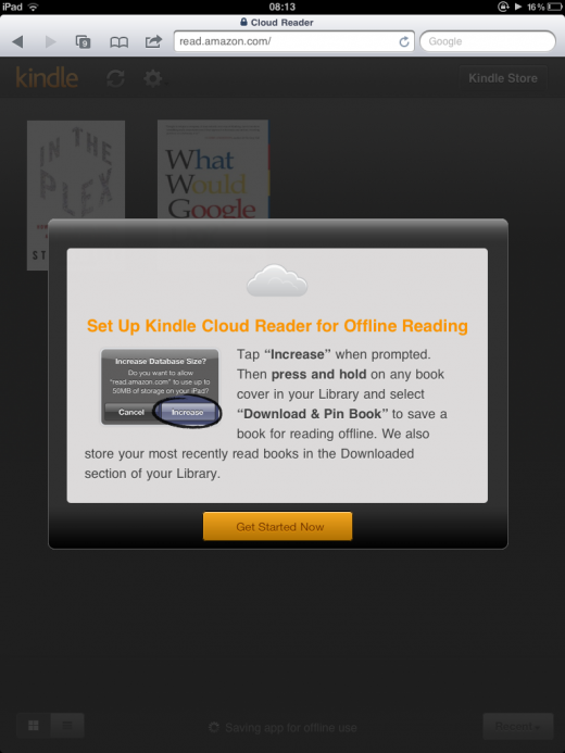photo 4 520x693 Amazon debuts new Kindle Cloud Reader web app, goes multi platform to bypass App Store terms