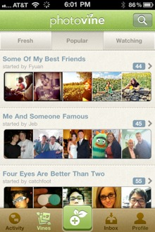 photovine1 Googles photo sharing app Photovine is now open to all