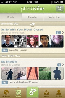 photovine2 Googles photo sharing app Photovine is now open to all
