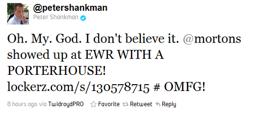 shankman2 How one tweet can get you a free steak dinner
