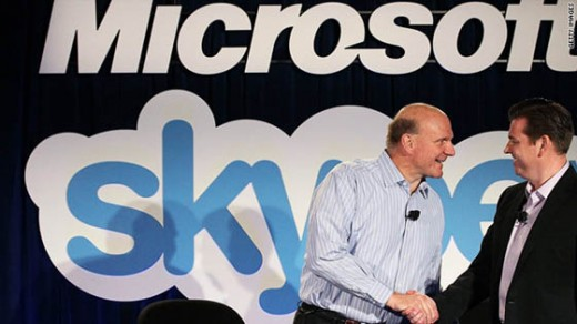 t1larg.microsoft.skype .users  520x292 Big Money: The Companies with the Biggest Cash Piles in Tech