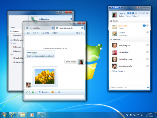 trillian5 desktop 520x390 The top 6 best Instant Message client apps on any platform