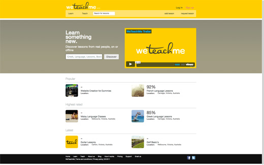weteachme 12 More Australian Startups to Keep Your Eye On
