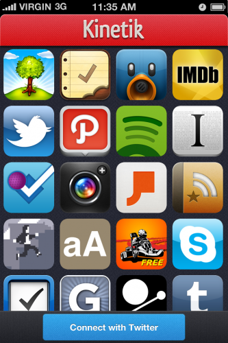 00 Sing Up 333x500 Kinetik: An iPhone app that lets you find and share great iPhone apps