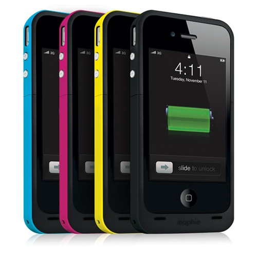1160 JPP IP4 BLK 5 The Mophie Juice Pack Plus is the iPhone case and battery combo youve been waiting for