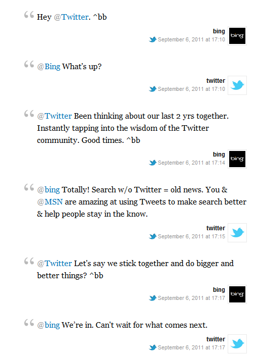 2011 09 06 1735 Twitter and Bing renew their relationship for real time search