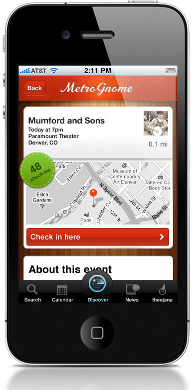 2eventdetail MetroGnome: The first app smart enough to suggest events youll actually attend