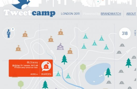 8132720AIHlB79Q 520x339 TweetCamp uses Twitter data to gamify a promotional virtual campsite