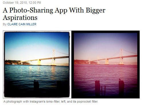 An App for Sharing Photos With Friends NYTimes.com 13162040913691 Kevin Systrom on Instagrams meteoric rise...and when IS it coming to Android? [Interview]