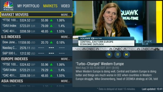 CNBC 520x295 CNBC makes market insights more accessible, launches TV app in EMEA region