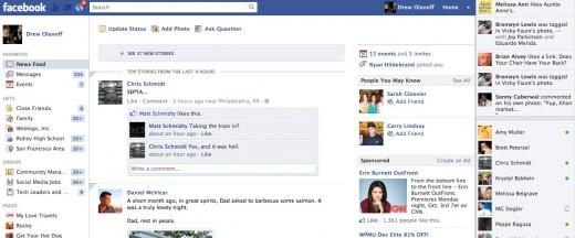 change facebook status