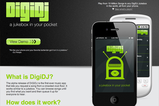 DigiDJ A jukebox in your pocket Meet the local winners of Foursquares first global hackathon