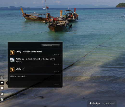 FB comments Online photo organizer Pictarine adds new features, support for Dropbox, 500px & more