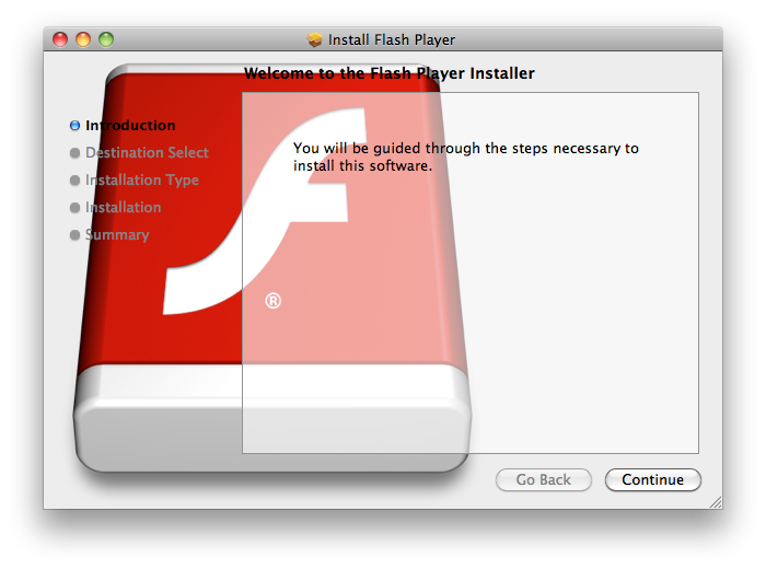 New Mac Flashback trojan horse malware pretends to be Flash installer