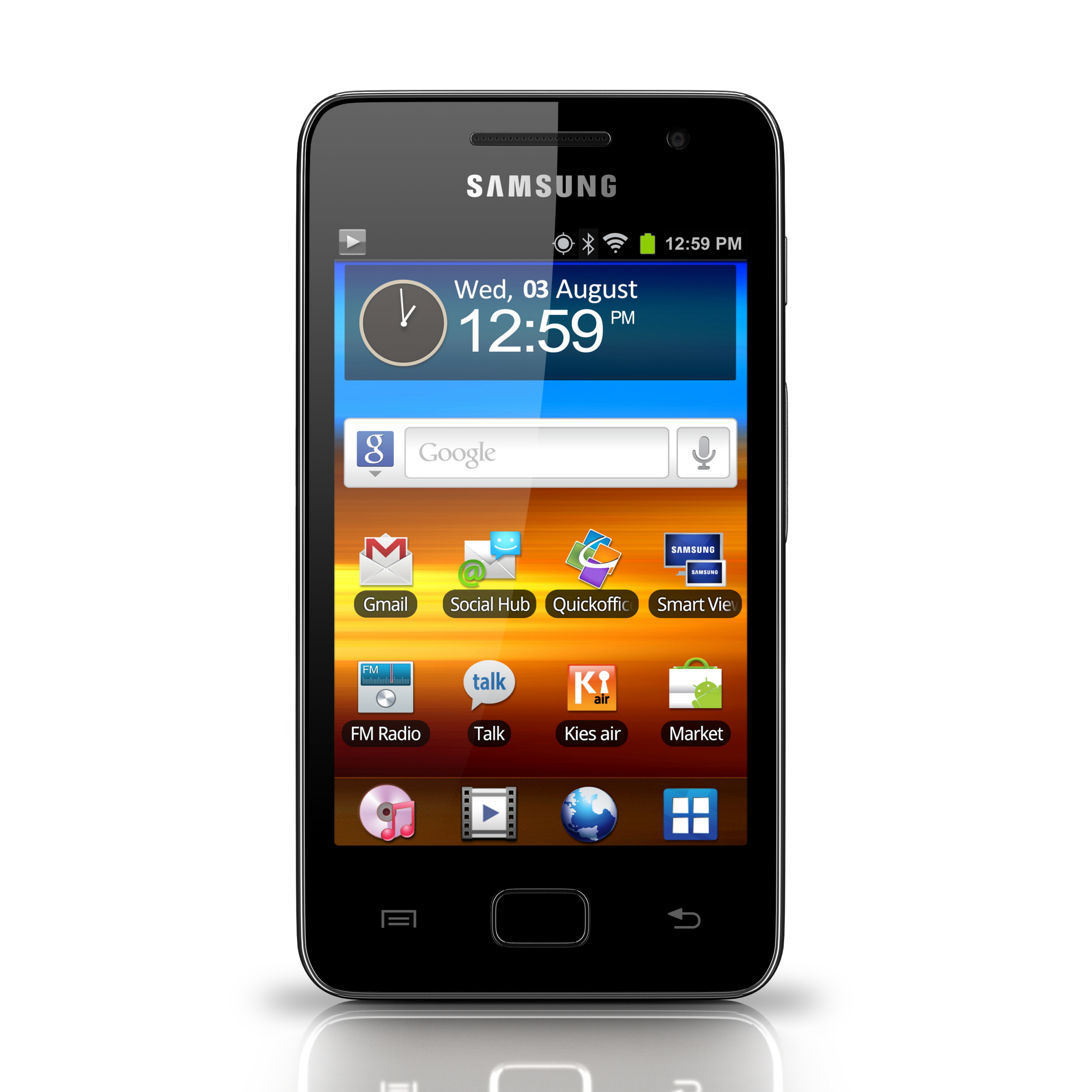 Samsung reveals Galaxy S WiFi 3.6, a contract-free, WiFi-only cell phone
