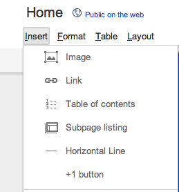 GIMage Now its this easy to add a +1 button to Google Sites
