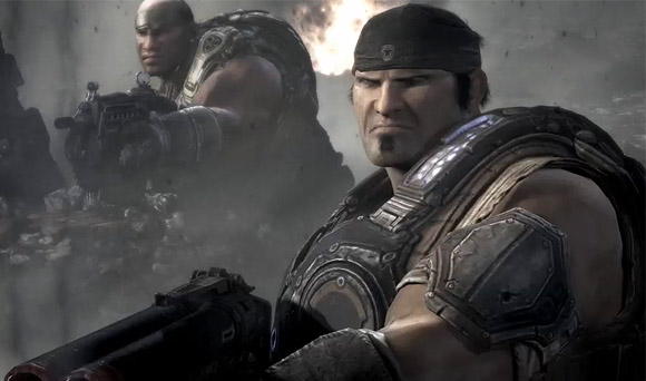 Microsoft to launch live TV adverts showing Gears of War 3 online games