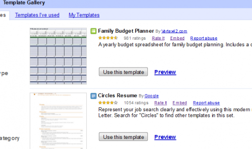 Google Docs Templates 500x296 15 tips to get the most out of Google Docs