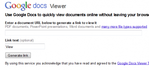 Google Docs Viewer 500x234 15 tips to get the most out of Google Docs