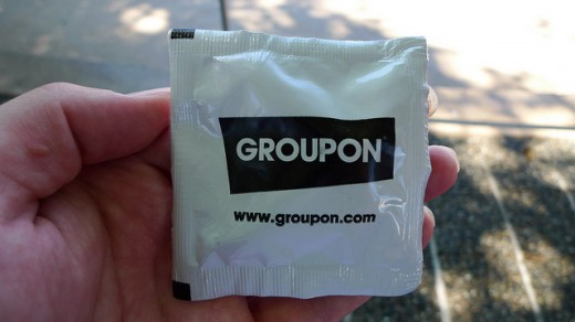 Groupon Skittles 520x292 Groupon cancels investor roadshow next week, will likely delay IPO