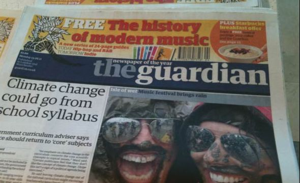The Guardian newspaper arrives on Android