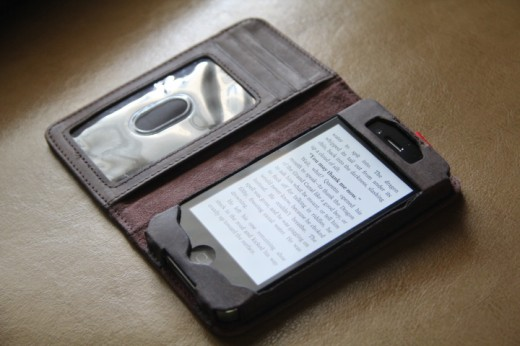 IMG 4957 520x346 Love books and hate carrying a wallet? The BookBook iPhone case is for you