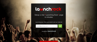 "LaunchRock – Setup a viral ""Launching Soon"" page in minutes"