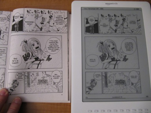 Manga on Kindle1 660x495 520x390 10 different ways to use your Kindle