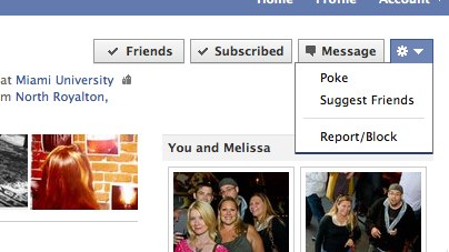 Melissa Belgrave 1 Facebook hides the Poke   Is it gone for good?