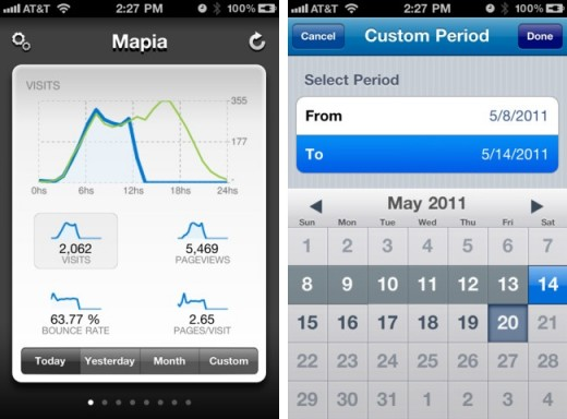 Quicklytics for iPhone 520x384 Keep an eye on your website statistics with these Google Analytics apps for iPhone