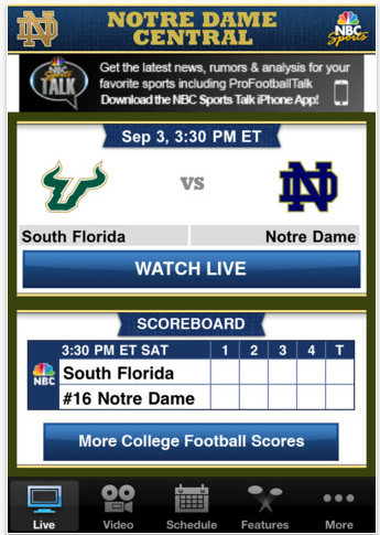 Screen Shot 2011 09 05 at 1.05.44 PM Five top iPhone apps for college football fans