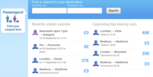 Screen Shot 2011 09 05 at 14.13.24 520x262 Carpooling startup Comuto, the AirBnB for journeys, hits 1 billion kilometers shared