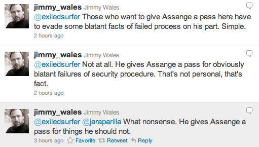 Screen Shot 2011 09 05 at 5.11.57 PM Wikipedias Jimmy Wales calls out security follies of Julian Assange and The Guardian