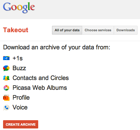 Screen Shot 2011 09 06 at 11.24.09 AM Google Takeout now lets you download an archive of your Google Voice activity
