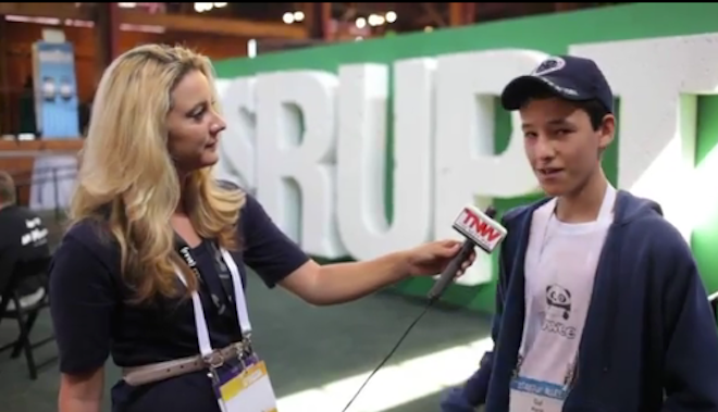 Meet the 15-year-old caught up in startup fever