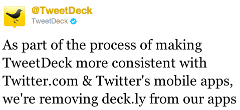 Screen Shot 2011 09 15 at 11.58.12 AM TweetDeck kills off Deck.lys long form integration with an all platforms update