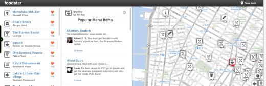 Screen shot 2011 09 08 at 3.16.30 PM 520x169 Just launched: Foodster helps you find the most loved food on Foursquare