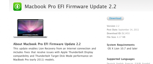 Screen shot 2011 09 14 at 3.12.14 PM 520x218 Apple EFI firmware update 2.2 for Macbook Pro and 1.3 for Mac mini fixes Thunderbolt issues
