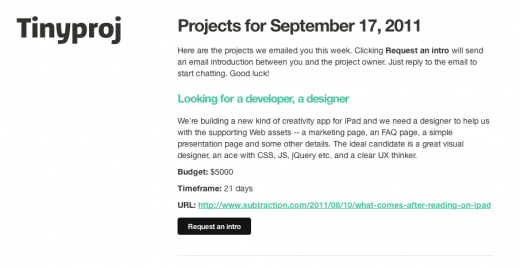Screen shot 2011 09 19 at 6.48.56 PM 520x268 Tinyproj: a minimalist approach to finding a quality designer or developer for your project
