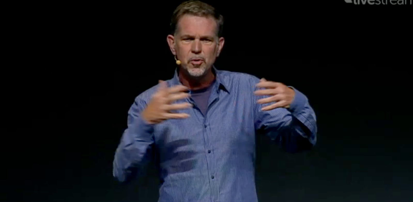 Netflix CEO Reed Hastings announces integration with Facebook in 44 countries, but NOT the US