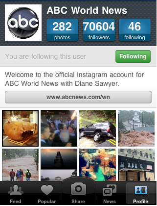 10 Inspiring accounts to follow on Instagram