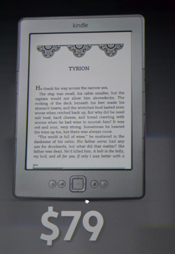 Amazon unveils super cheap $79 Kindle ebook reader