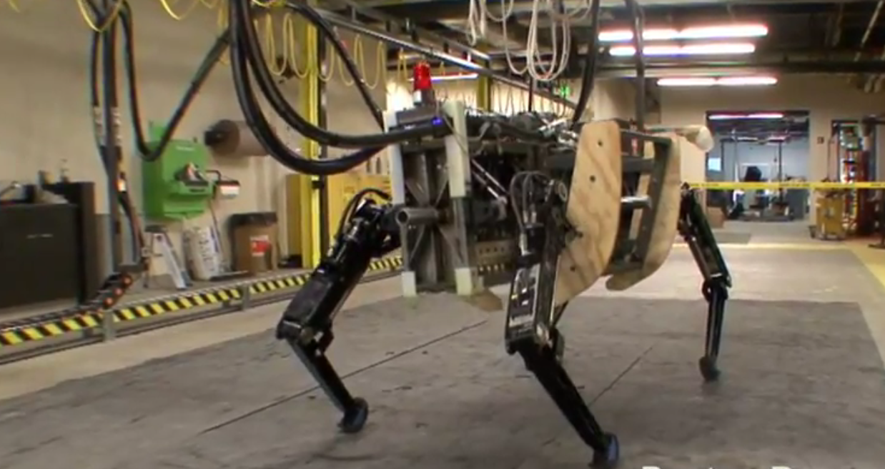Meet AlphaDog, Boston Dynamics' scary brute robot