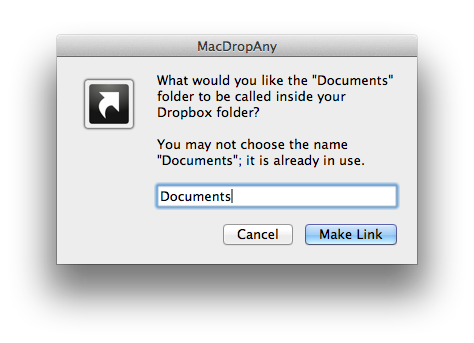 Select a Name How to use Dropbox to sync your Documents folder between Macs for free