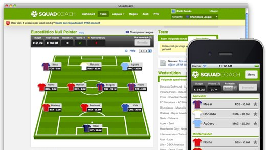 SquadCoach Fantasy Football Introducing SquadCoach, online fantasy football goes social [Invites]