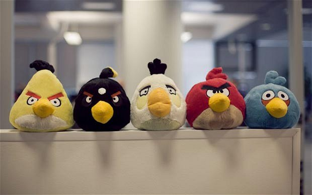 Rovio to expand retail presence, wants Angry Birds leaderboards in your local Starbucks