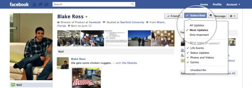 blake subs dropdown v002 520x182 Facebook unveils new Subscribe button, eliminating your desire for any other network