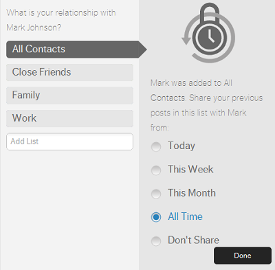 contacts Social network Ayloo is all about the conversation