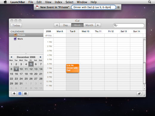 create ical event zoomed 520x390 5 powerful apps every Mac user should have