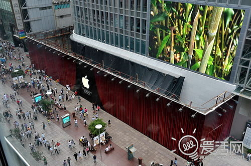 Apple soon to open its biggest Chinese store, in Shanghai